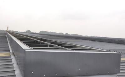 HT1型并列风道式薄型通风天窗